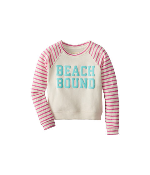 Billabong Kids - Sing Along Pullover Crew (Little Kids/Big Kids) (Passion Pop) Girl's Sweatshirt