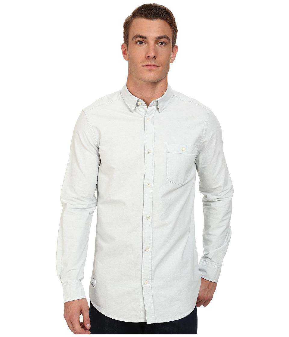 WeSC - Lye Long Sleeve Woven Shirt (Light Baby) Men