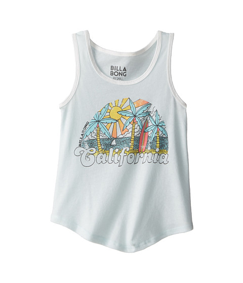 Billabong Kids - The Cali Scene Tank Top (Little Kids/Big Kids) (Skylight) Girl's Sleeveless