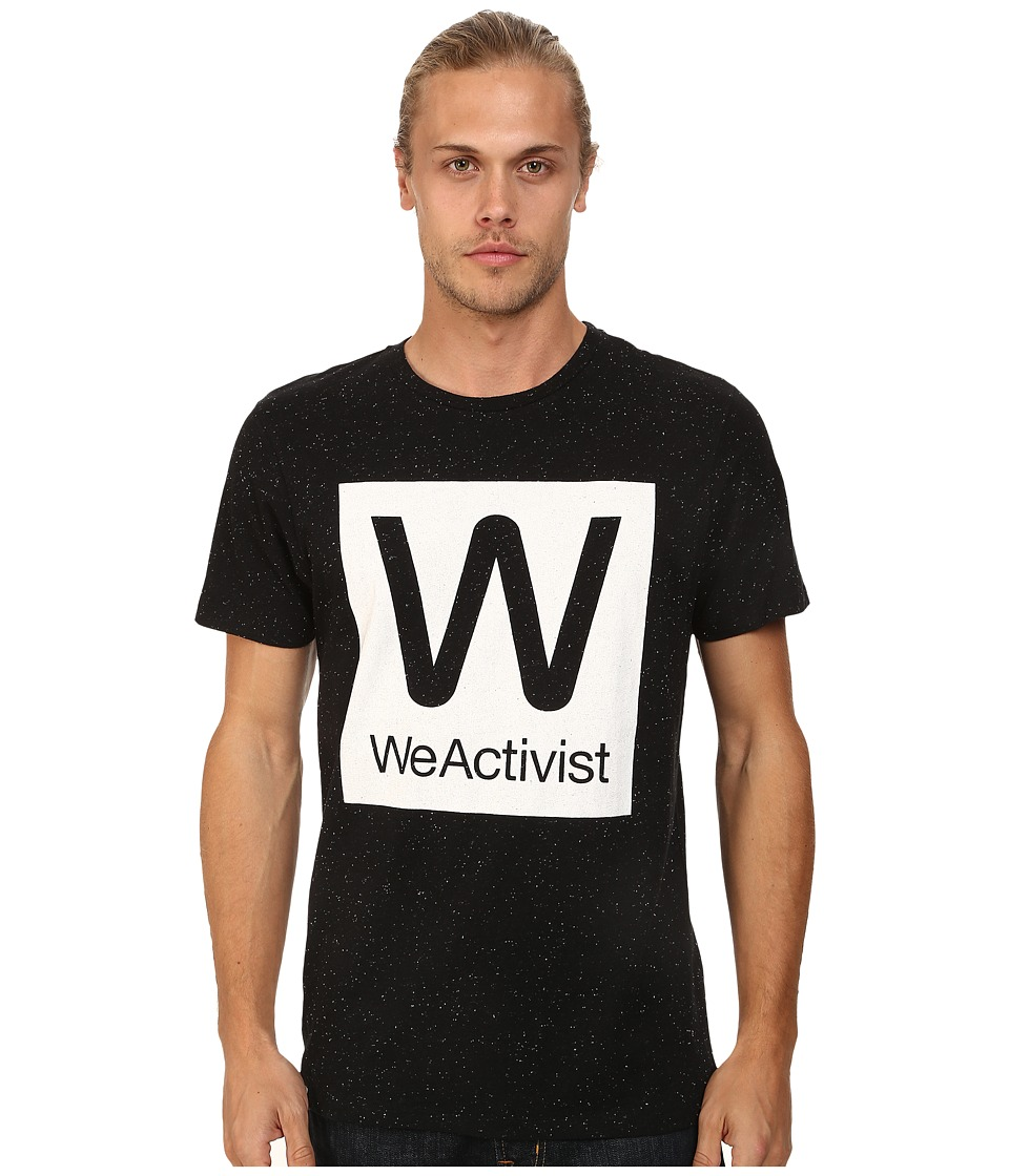WeSC - Weactivist Short Sleeve Tee (Black) Men's T Shirt