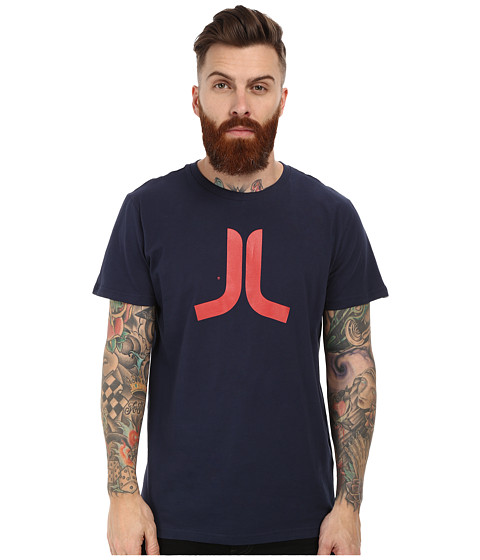 WeSC - Icon Short Sleeve Tee (Blue Iris) Men's T Shirt