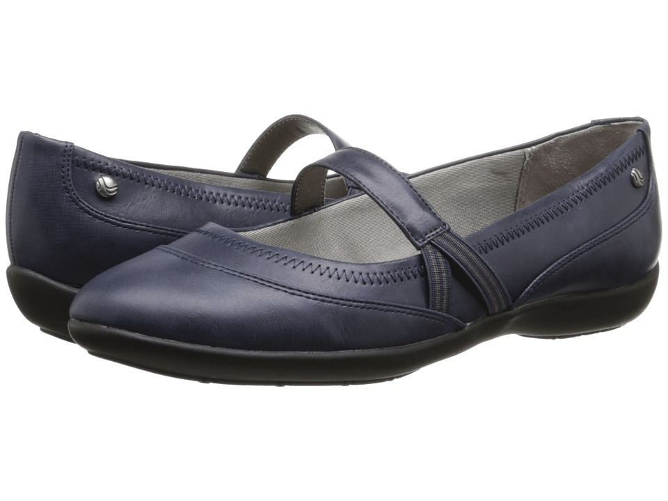 LifeStride - Leona (Navy) Women's Shoes