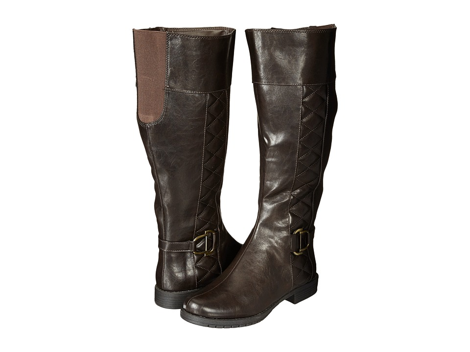 LifeStride - Marvelous Wide Calf (Dark Brown) Women's Boots