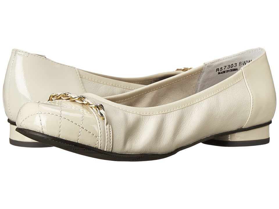 Rose Petals - Minnie (Wheat Nappa/Qulited Patent/Patent) Women's Shoes