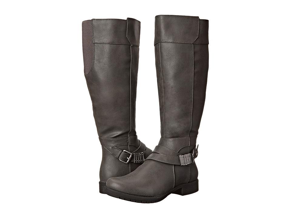 LifeStride - Maximize Wide Calf (Dark Grey) Women's Boots