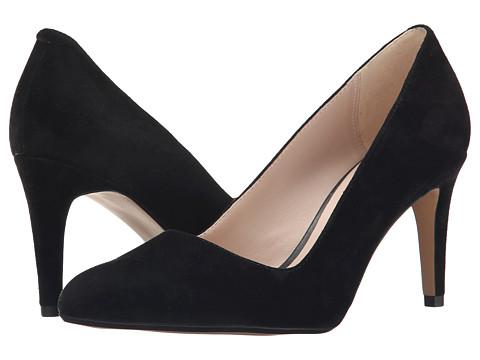 Clarks - Dalhart Sorbet (Black Suede) High Heels