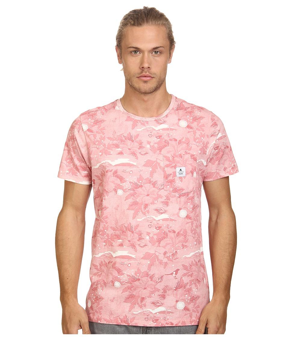 WeSC - Sarek Hawaii Short Sleeve Tee (Winter White) Men's T Shirt