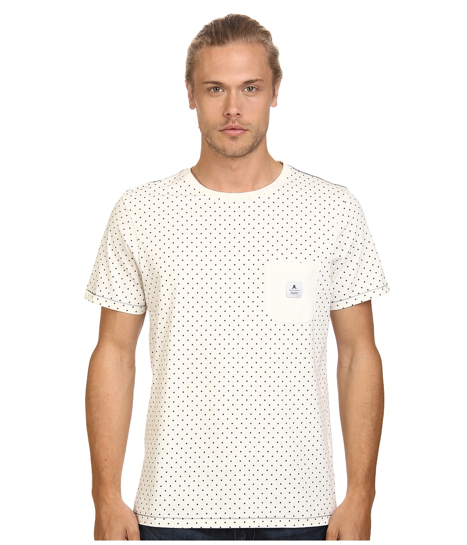 WeSC - Atlas Short Sleeve Tee (Winter White) Men's T Shirt