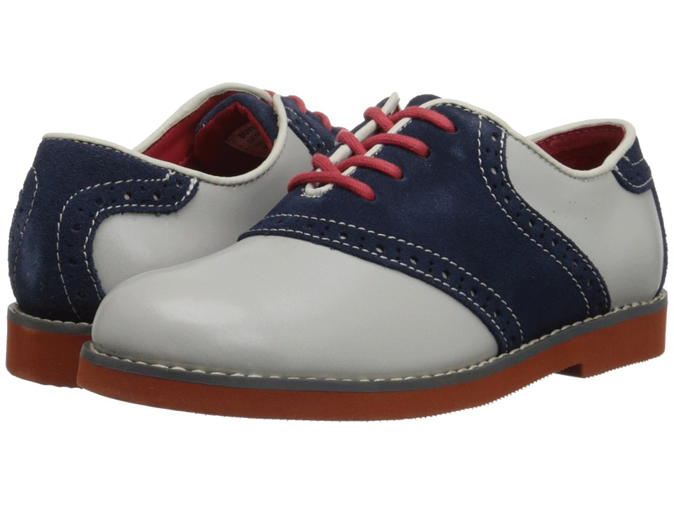 Florsheim Kids - Kennett Jr. Appaman Special Edition (Toddler/Little Kid/Big Kid) (Bone/Brick Sole) Boys Shoes