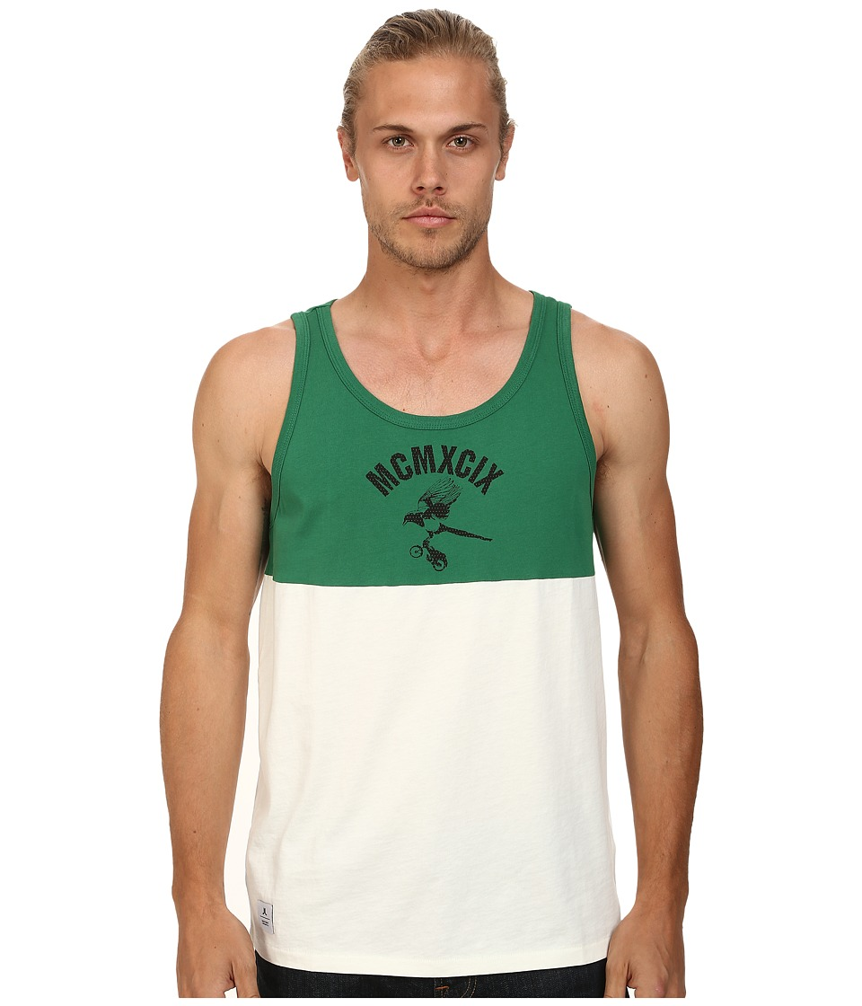 WeSC - Corvus Tank Top (Verdant Green) Men