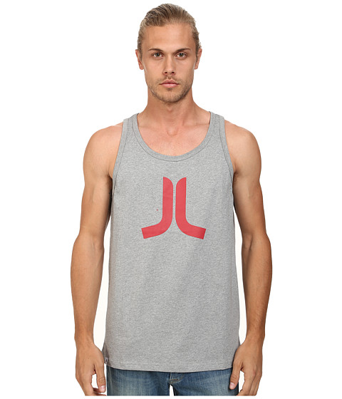 WeSC - Icon Tank Top (Grey Melange) Men's Sleeveless