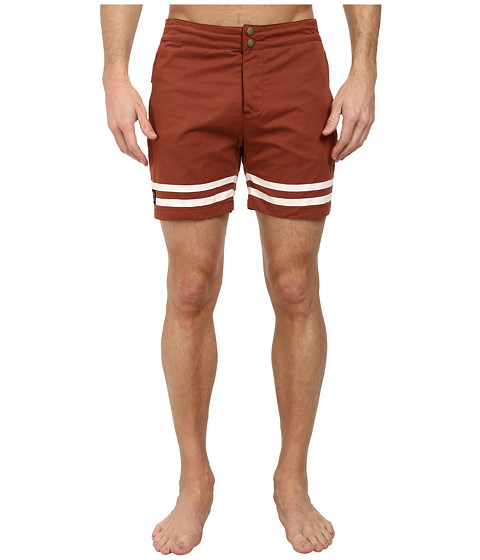 WeSC - Humvee Swim Shorts (Henna) Men's Swimwear