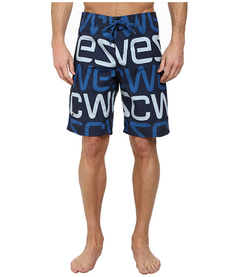 WeSC - Djavan Swim Shorts (Blue Iris) Men