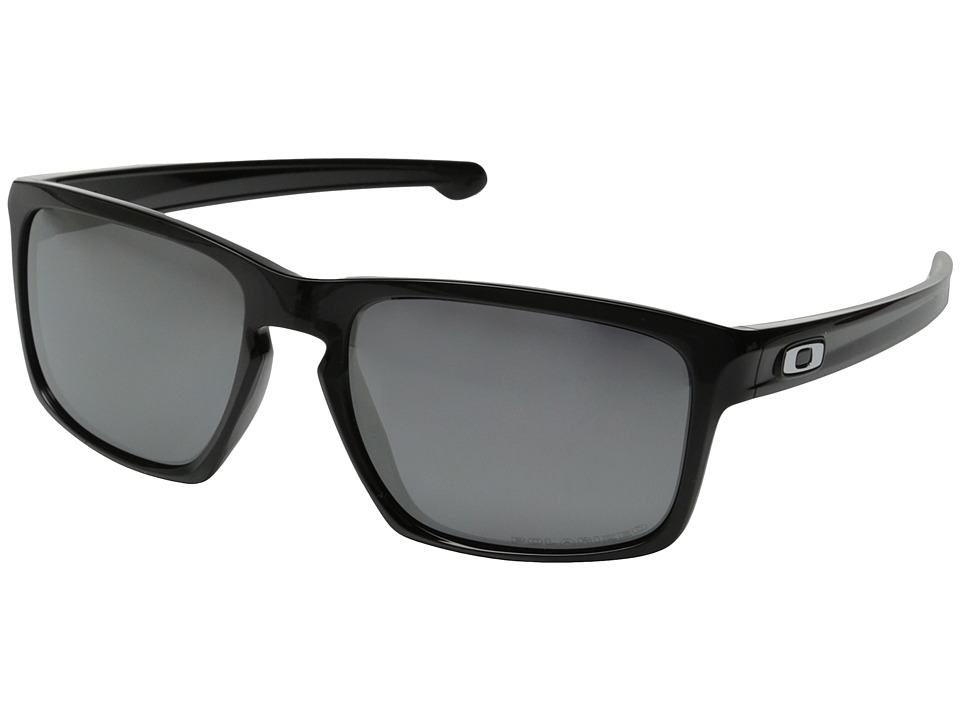 Oakley - Sliver (Polished Black/Black Iridium Polarized) Sport Sunglasses