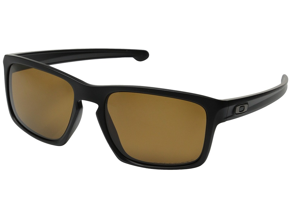 Oakley - Sliver (Matte Black/Bronze Polarized) Sport Sunglasses