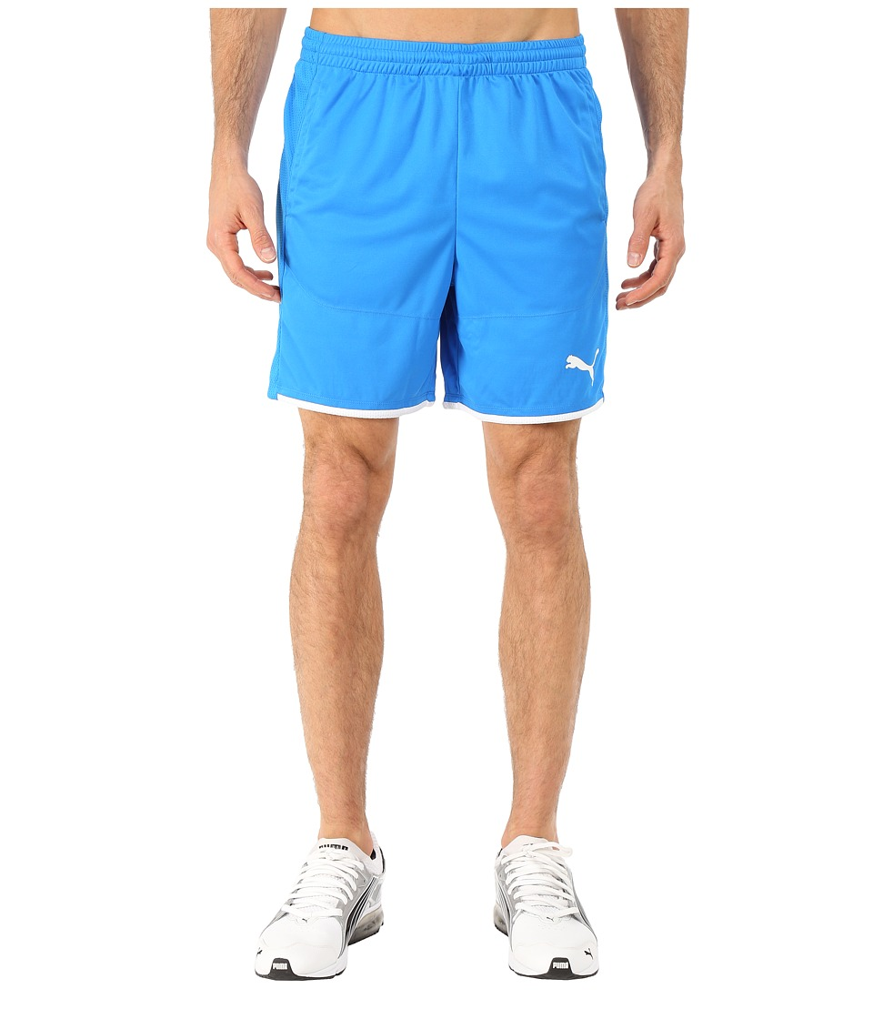 PUMA - IT evoTRG Shorts (Electric Blue Lemonade/White) Men