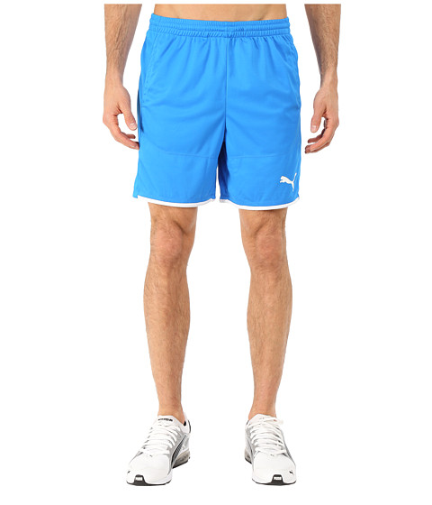 PUMA - IT evoTRG Shorts (Electric Blue Lemonade/White) Men's Shorts