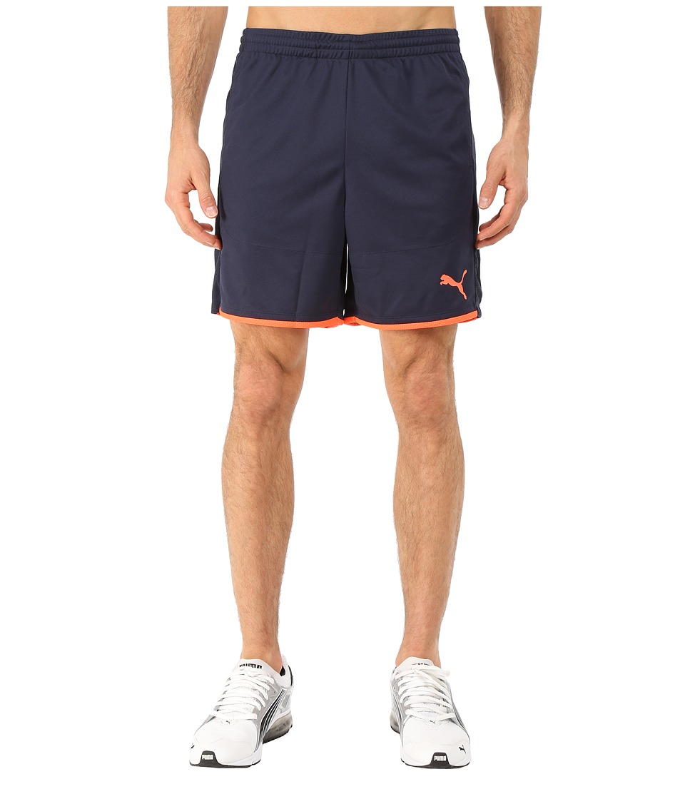 PUMA - IT Evotrg Shorts (Total Eclipse/Lava Blast) Men's Shorts