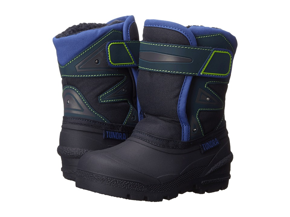 Tundra Boots Kids - Oregon (Toddler) (Navy) Boys Shoes