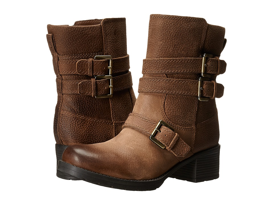 Rockport - City Casuals Rola Buckle Bootie (Nutella Tumble WL) Women's Boots