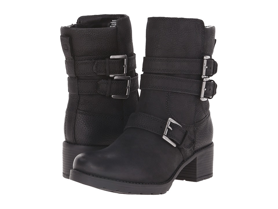 Rockport - City Casuals Rola Buckle Bootie (Black Tumble WL) Women's Boots