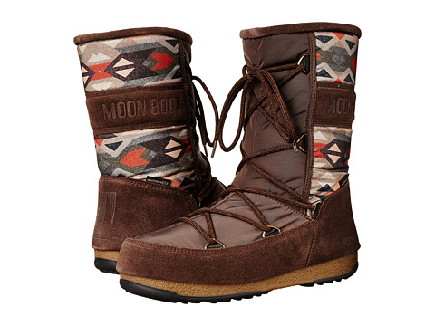 Tecnica - Moon Boot Vienna Mix (Brown) Women's Work Boots