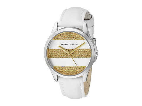 AX Armani Exchange - Hampton (White) Analog Watches