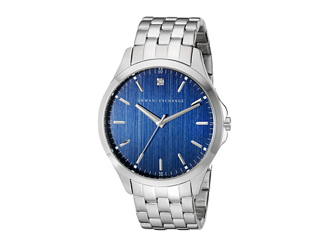 AX Armani Exchange - Hampton (Silver) Analog Watches