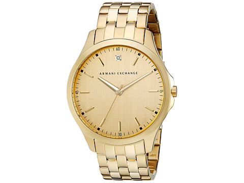 AX Armani Exchange - Hampton (Gold) Analog Watches