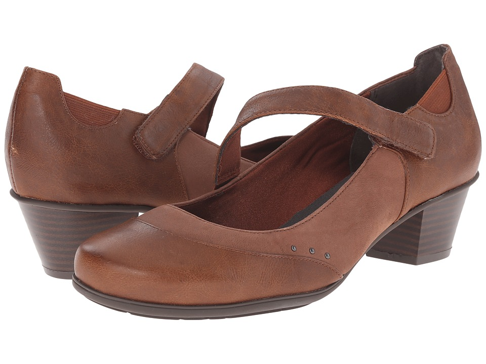 Rockport - Total Motion Amy Gore MJ (Nutella Cas Pull/Pearl S) Women's Shoes