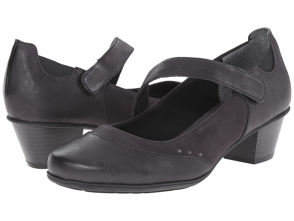 Rockport - Total Motion Amy Gore MJ (Black Cas Pull/Pearl S) Women's Shoes