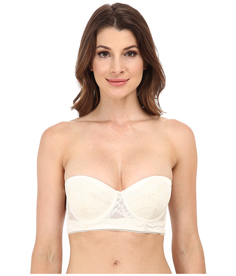 Calvin Klein Underwear - Striking Customized Lift Longline Strapless Multi QF1136 (Ivory) Women's Bra