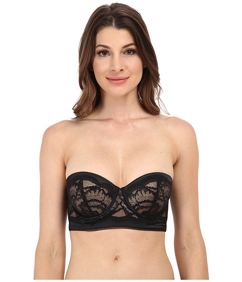 Calvin Klein Underwear - Striking Customized Lift Longline Strapless Multi QF1136 (Black) Women