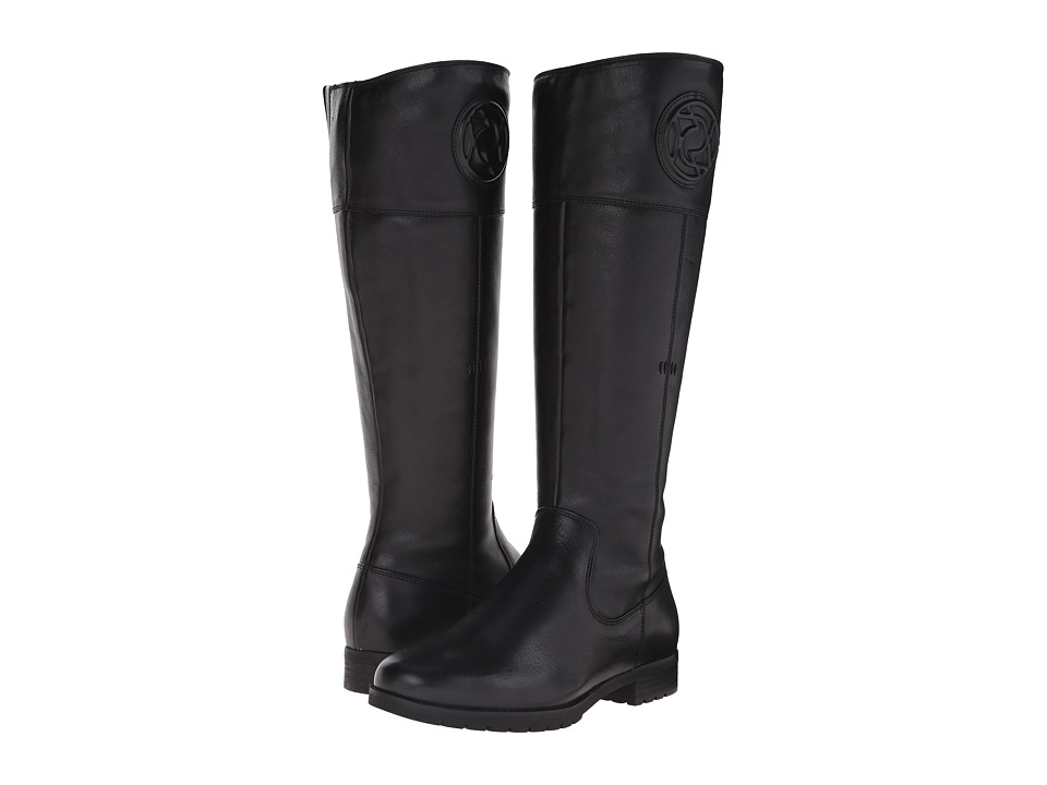 Rockport Tristina Rosette Tall Boot (Black Cas Leather WL) Women