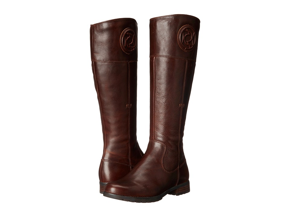 Rockport Tristina Rosette Tall Boot (B Sugar Cas Leather WL) Women