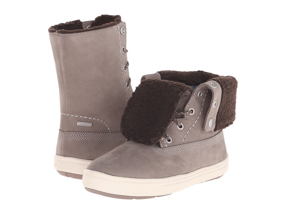 Rockport Truwalkzero Cupsole Fur Bootie (D Ash Smooth Nubuck WP WL) Women
