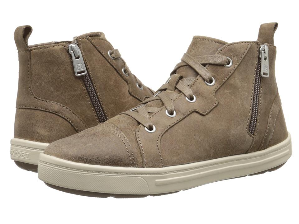 Rockport - Truwalkzero Cupsole Hi Top (M Grey Dist Leather) Women's Shoes