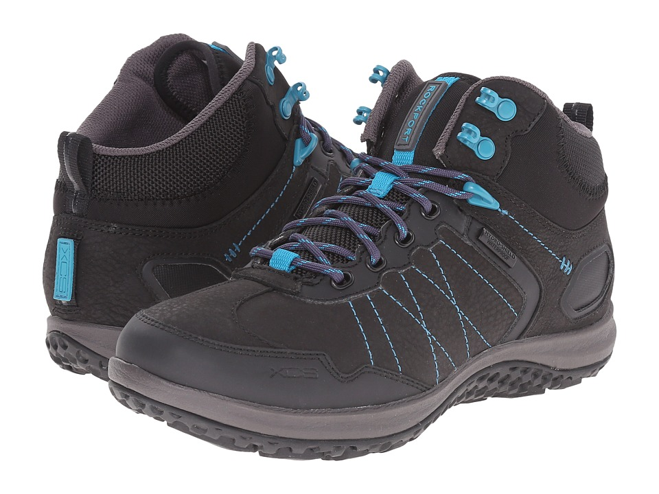 Rockport - Walk360 Kezia Trail Mid (Black WP) Women's Boots