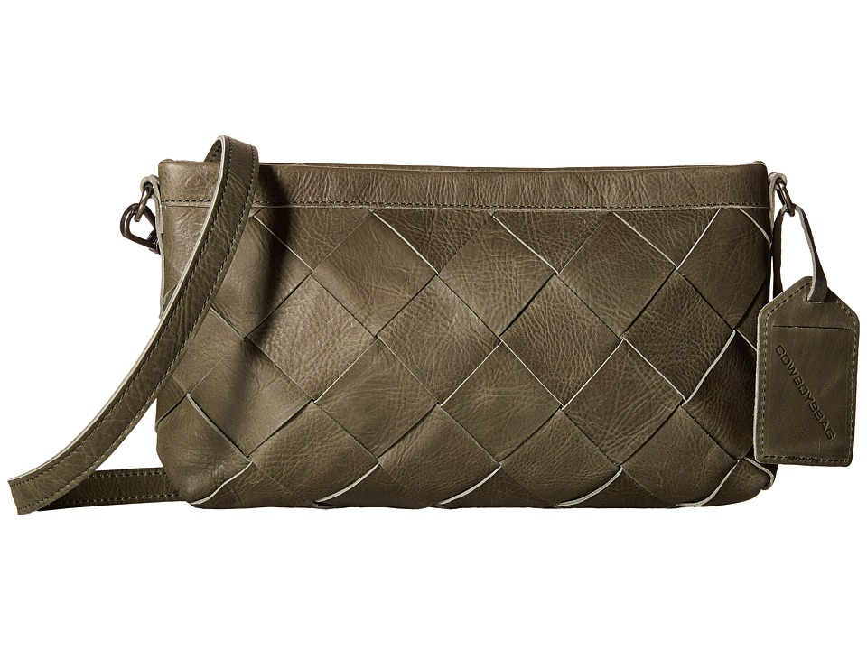 COWBOYSBELT - Harthill (Green) Handbags