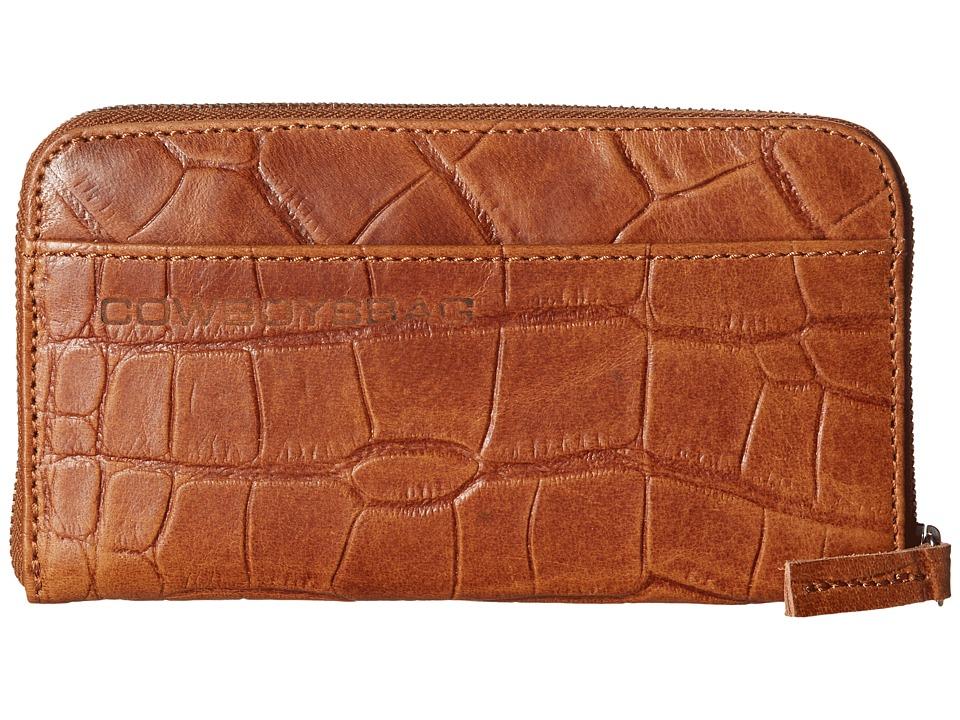 COWBOYSBELT - Acara (Tobacco) Handbags