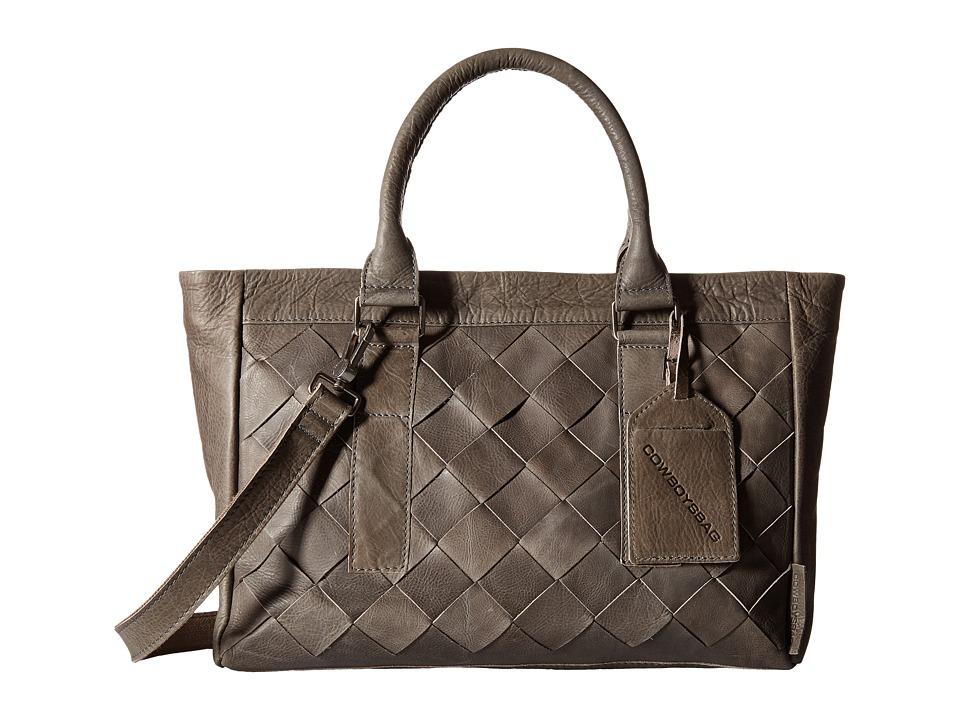 COWBOYSBELT - Denny (Dark Grey) Handbags