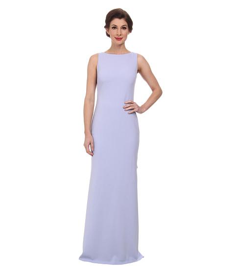 Badgley Mischka - Odessa Ruffle Back Gown (Lilac) Women
