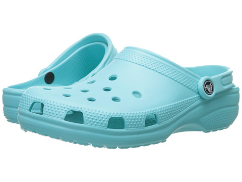 Crocs - Classic (Cayman) - Unisex (Pool) Clog Shoes