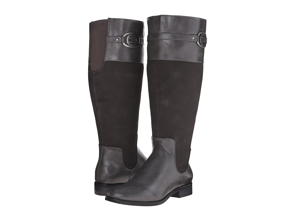LifeStride - Ravish Wide Calf (Dark Grey) Women's Boots