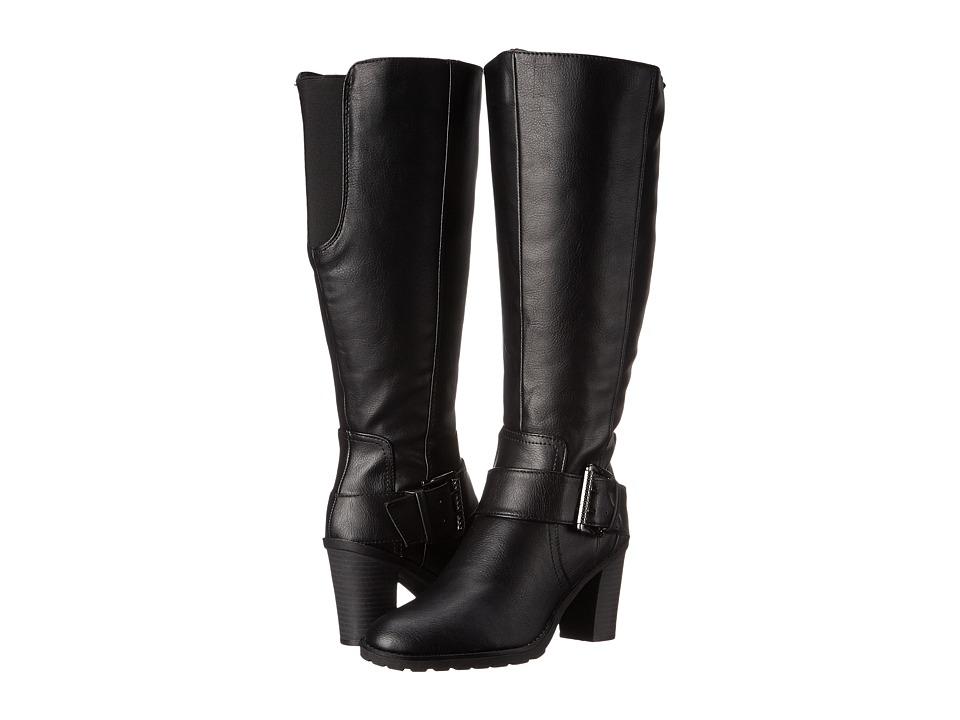 LifeStride - Sasha Wide Calf (Black) Women's Boots