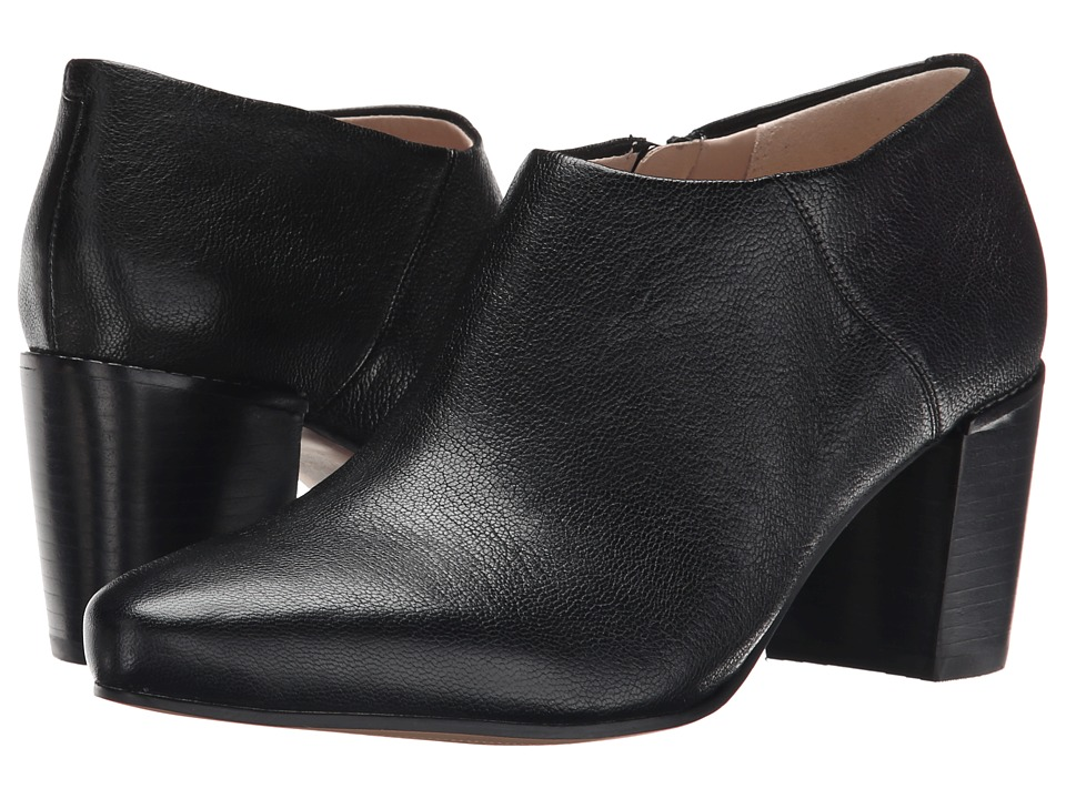 Clarks - Cleaves Vibe (Black Leather) Women's Pull-on Boots