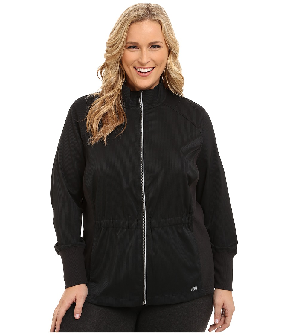 Marika Curves - Plus Size Downtown Jacket (Black) Women's Coat