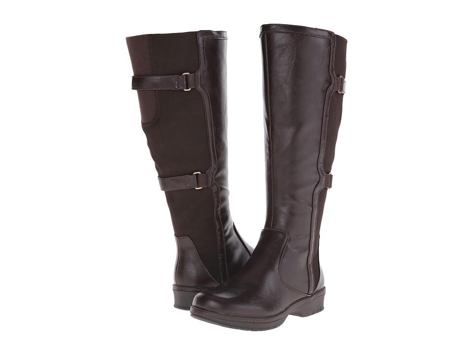 LifeStride - Venture Wide Calf (Dark Chocolate) Women's Boots