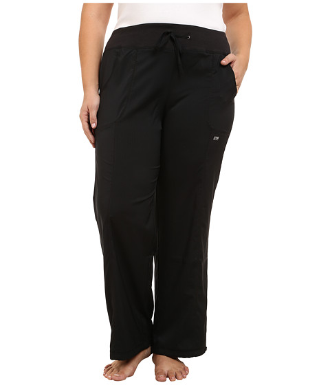 Marika Curves - Plus Size Downtown Pants (Black) Women's Casual Pants