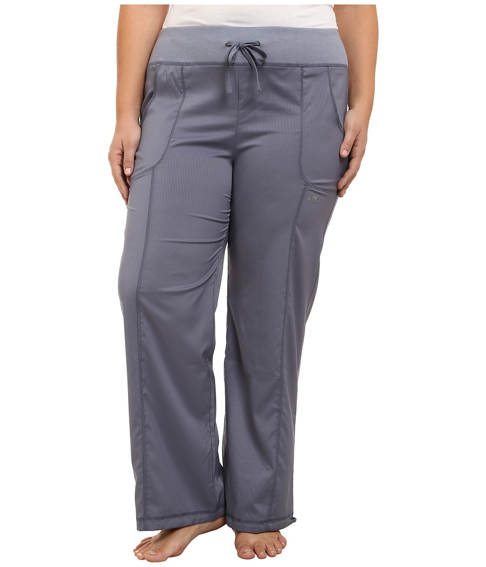 Marika Curves - Plus Size Downtown Pants (Folkstone Gray) Women's Casual Pants